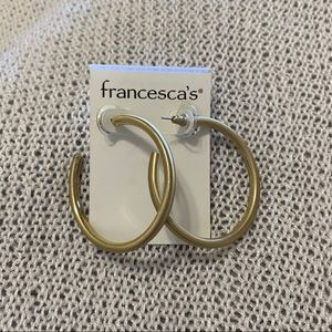 Francesca's Hoop Earrings